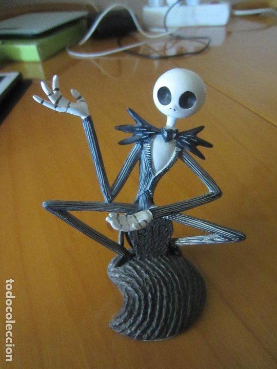 Figuras de Goma y PVC: PESADILLA ANTES DE NAVIDAD-FIGURA JACK SKELETON - Foto 2 - 204686700