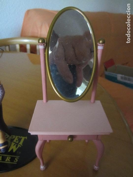 Figuras de Goma y PVC: FIGURA PEGGY -TELEÑECOS- MUPPETS- CON TOCADOR - Foto 3 - 204688598