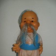 Figuras de Goma y PVC: ANTIGUO MUÑECO DE GOMA MONGOL O SIMILAR. Lote 204698521