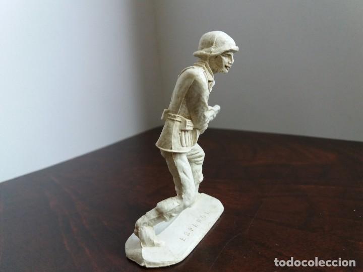 Figuras de Goma y PVC: FIGURA SOLDADO ESPAÑOL 1016. REGALO DETERGENTE. COMANSI. AÑOS 60/70. - Foto 3 - 204702363