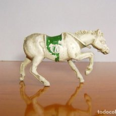 Figuras de Goma y PVC: CABALLO DE GOMA ANTIGUO SIN COLA. Lote 204822497