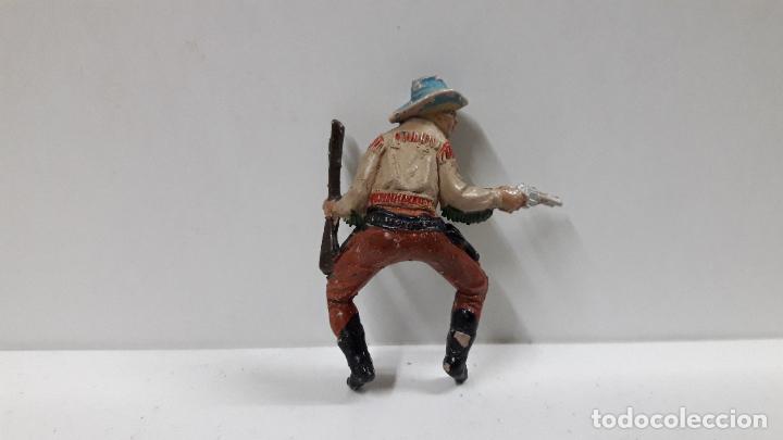 Figuras de Goma y PVC: VAQUERO PARA CABALLO . REALIZADO POR TEIXIDO . AÑOS 50 EN GOMA . CABALLO NO INCLUIDO - Foto 6 - 205016393