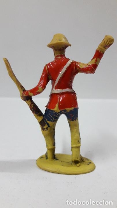 Figuras de Goma y PVC: ANTIGUO SOLDADO DE INFANTERIA - AMERICANO . REALIZADO POR ALCA - CAPELL . AÑOS 50 EN GOMA - Foto 2 - 205016693
