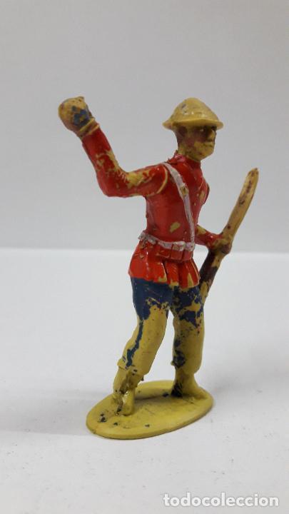Figuras de Goma y PVC: ANTIGUO SOLDADO DE INFANTERIA - AMERICANO . REALIZADO POR ALCA - CAPELL . AÑOS 50 EN GOMA - Foto 4 - 205016693