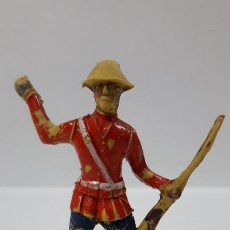 Figuras de Goma y PVC: ANTIGUO SOLDADO DE INFANTERIA - AMERICANO . REALIZADO POR ALCA - CAPELL . AÑOS 50 EN GOMA. Lote 205016693