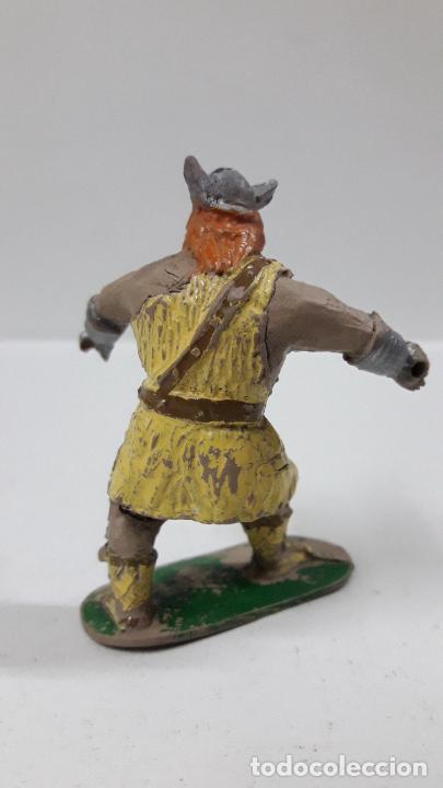 Figuras de Goma y PVC: VIKINGO - SERIE EL CAPITAN TRUENO . REALIZADA POR JIN . ORIGINAL AÑOS 50 EN GOMA . LEER DESCRIPCION - Foto 2 - 205092876