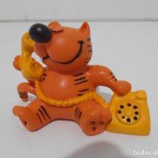 Figuras de Goma y PVC: FIGURA PVC, GATO ISIDORO TELEFONO, FIGURA NUEVA DE ALMACEN, COMICS SPAIN. Lote 205113161