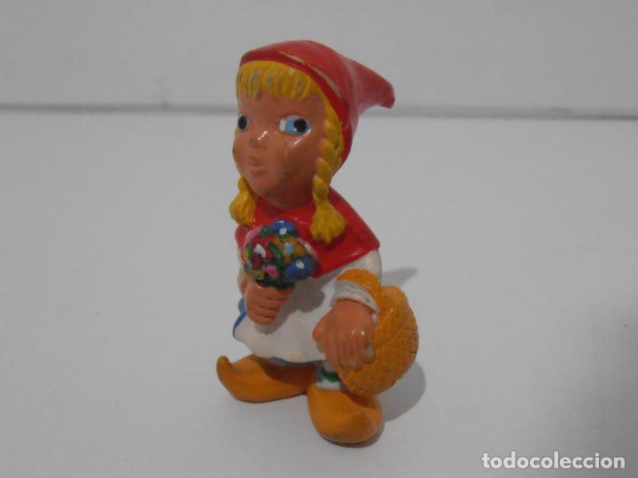 FIGURA PVC, CAPERUCITA ROJA, COMICS SPAIN (Juguetes - Figuras de Goma y Pvc - Comics Spain)