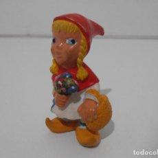 Figuras de Goma y PVC: FIGURA PVC, CAPERUCITA ROJA, COMICS SPAIN. Lote 205114245