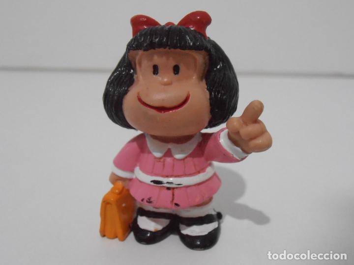 FIGURA PVC, MAFALDA COLEGIO, COMICS SPAIN, FIGURA NUEVA DE ALMACEN (Juguetes - Figuras de Goma y Pvc - Comics Spain)