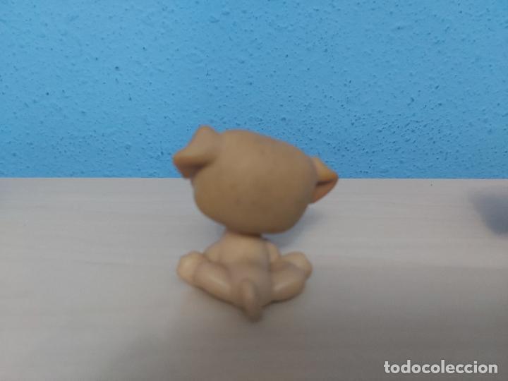Figuras de Goma y PVC: ANTIGUO MUÑECO DE HASBRO FIGURA CABEZA BASCULANTE - PERRO - 5 CM - Foto 2 - 205132126