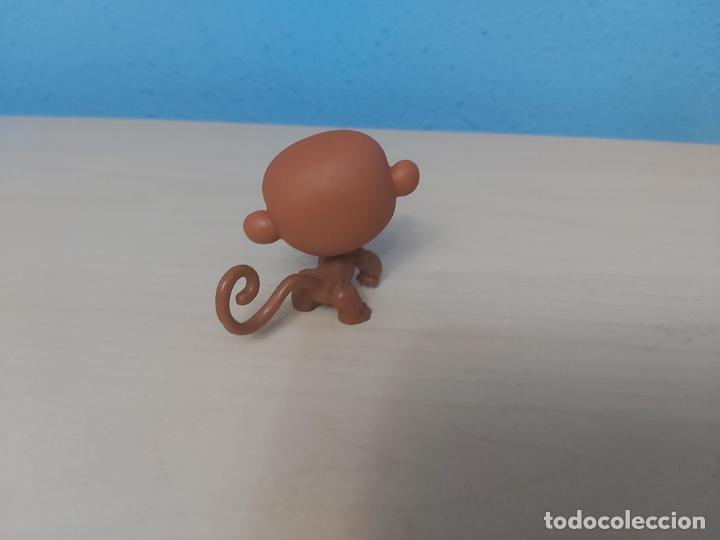 Figuras de Goma y PVC: ANTIGUO MUÑECO DE HASBRO FIGURA CABEZA BASCULANTE - MONO - 5 CM - Foto 2 - 205134405