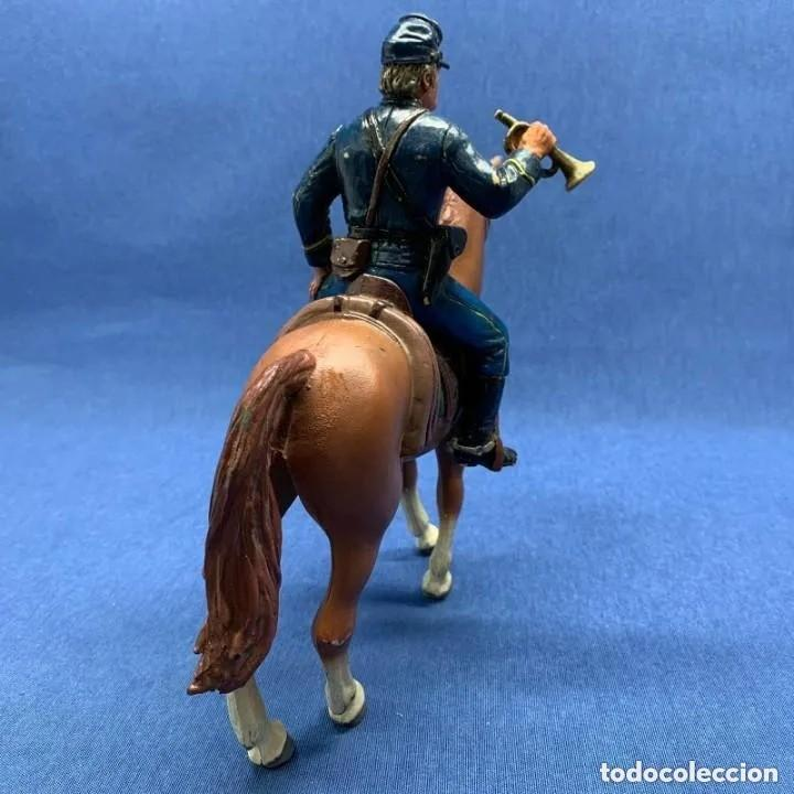 Figuras de Goma y PVC: SOLADO HENRY WILLIAMS A CABALLO - COMANSI HÉROES OF THE WEST - NORDISTA - GRAN CABALLO 18 CM DE ALTO - Foto 3 - 205142430