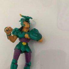 Figuras de Goma y PVC: MUÑECO EN GOMA PVC CABALLEROS DEL ZODIACO. Lote 205144711