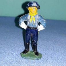 Figuras de Goma y PVC: CABO RUSTY DE JECSAN SERIE RIN TIN TIN EN GOMA ORIGINAL AÑOS 50/60. Lote 205175730