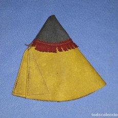 Figuras de Goma y PVC: TIENDA TIPY TIPI INDIA DE PECH DE CUERO AÑOS 50 EN BUEN ESTADO. Lote 205187227