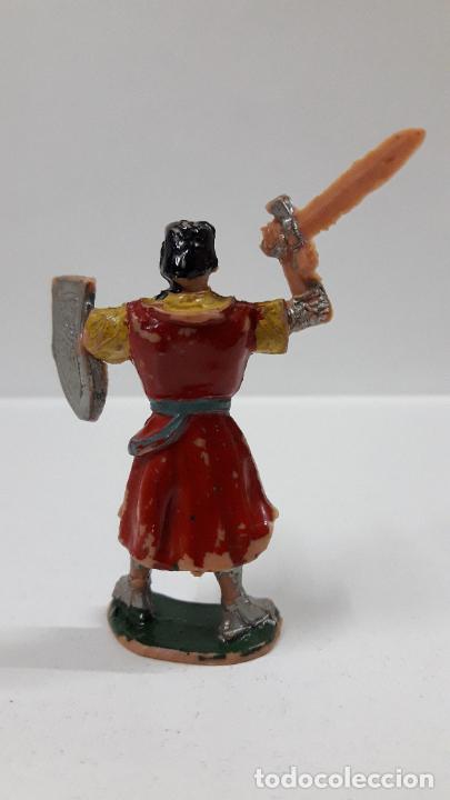 Figuras de Goma y PVC: EL CAPITAN TRUENO . REALIZADO POR ESTEREOPLAST . ORIGINAL AÑOS 60 - Foto 2 - 205196848