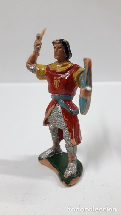 Figuras de Goma y PVC: EL CAPITAN TRUENO . REALIZADO POR ESTEREOPLAST . ORIGINAL AÑOS 60 - Foto 3 - 205196848