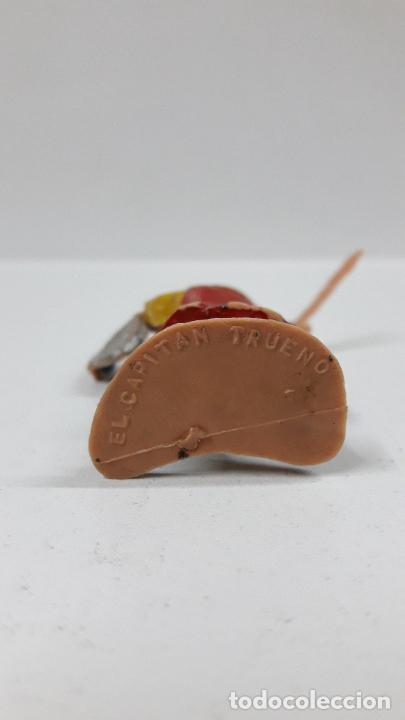 Figuras de Goma y PVC: EL CAPITAN TRUENO . REALIZADO POR ESTEREOPLAST . ORIGINAL AÑOS 60 - Foto 5 - 205196848