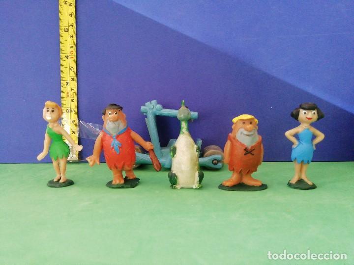 JECSAN, PECH, SELECCIONES PLÁSTICAS. SERIE HANNA BARBERA. LOS PICAPIEDRA (Juguetes - Figuras de Goma y Pvc - Jecsan)