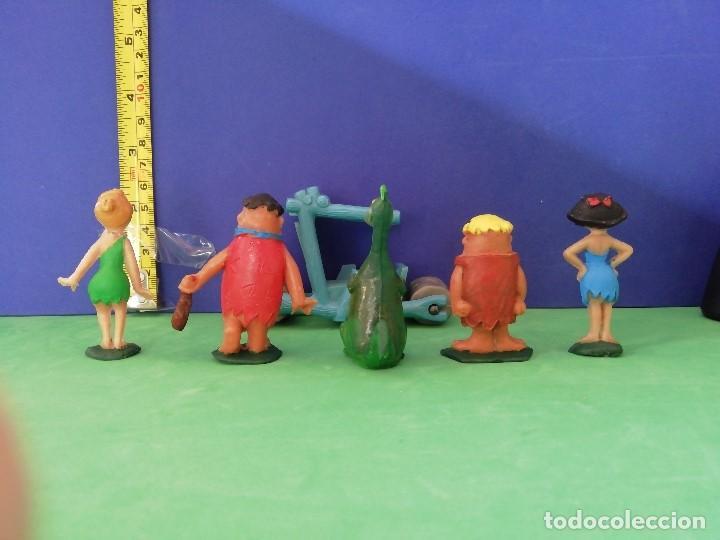 Figuras de Goma y PVC: JECSAN, PECH, SELECCIONES PLÁSTICAS. SERIE HANNA BARBERA. LOS PICAPIEDRA - Foto 3 - 205237050