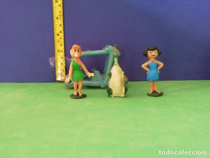 Figuras de Goma y PVC: JECSAN, PECH, SELECCIONES PLÁSTICAS. SERIE HANNA BARBERA. LOS PICAPIEDRA - Foto 5 - 205237050