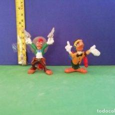 Figuras de Goma y PVC: JECSAN, PECH, SERIE WALT DISNEY. PANCHITO PISTOLAS Y JOSÉ CARIOCA (DE LOS TRES CABALLEROS). Lote 205237318