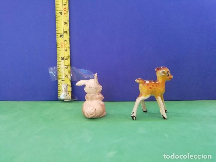 Figuras de Goma y PVC: JECSAN, PECH, SELECCIONES PLÁSTICAS. SERIE WALT DISNEY. BAMBI Y TAMBOR - Foto 2 - 205237810