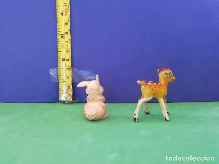 Figuras de Goma y PVC: JECSAN, PECH, SELECCIONES PLÁSTICAS. SERIE WALT DISNEY. BAMBI Y TAMBOR - Foto 3 - 205237810
