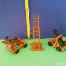 Figuras de Goma y PVC: ARMAS DE ASALTO. EXIN CASTILLOS?. Lote 205239362