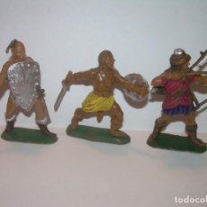 Figuras de Goma y PVC: TRES FIGURAS DE PLASTICO.. Lote 205259631