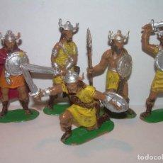 Figuras de Goma y PVC: CINCO FIGURAS DE PLASTICO.. Lote 205260117