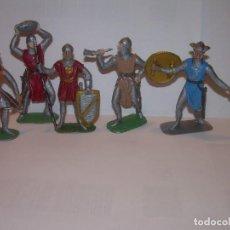 Figuras de Goma y PVC: CINCO FIGURAS DE PLASTICO..BUEN ESTADO DE CONSERVACION.. Lote 205265655