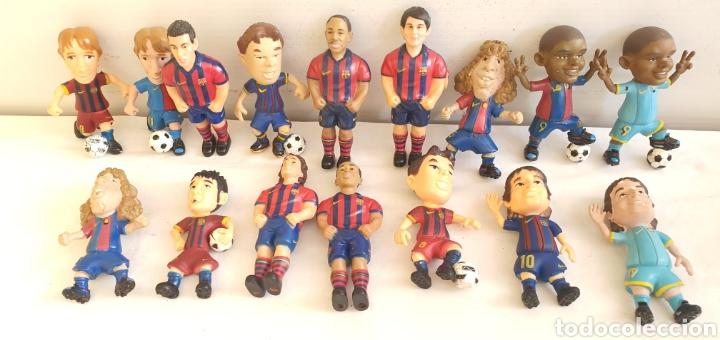 Figuras de Goma y PVC: FIGURAS O MUÑECOS GOMA PVC -JUGADORES DEL BARÇA YOLANDA - Foto 2 - 205386031