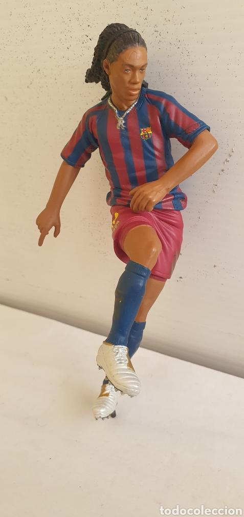 Figuras de Goma y PVC: FIGURAS O MUÑECOS GOMA PVC -JUGADORES DEL BARÇA YOLANDA - Foto 7 - 205386031
