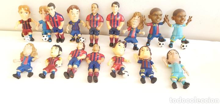 FIGURAS O MUÑECOS GOMA PVC -JUGADORES DEL BARÇA YOLANDA (Juguetes - Figuras de Goma y Pvc - Otras)