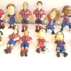 Figuras de Goma y PVC: FIGURAS O MUÑECOS GOMA PVC -JUGADORES DEL BARÇA YOLANDA. Lote 205386031