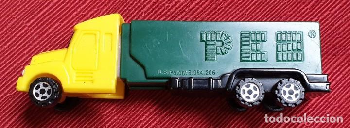 AMG-813 DISPENSADOR CARAMELOS PEZ, CAMIÓN (Juguetes - Figuras de Gomas y Pvc - Dispensador Pez)