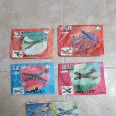 Figuras de Goma y PVC: LOTE DE 5 SOBRES DIFERENTES SIN ABRIR MONTA PLEX. Lote 205459171