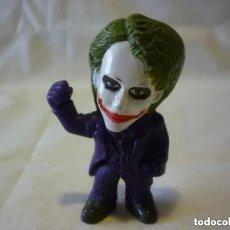 Figurines en Caoutchouc et PVC: FIGURA JOKER - BATMAN EL CABALLERO OSCURO - HEATH LEDGER - PROMOCIÓN NESTLÉ. Lote 205476670
