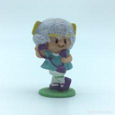 Figuras de Goma y PVC: FIGURA PVC TARTA DE FRESA (STRAWBERRY CAKE) - CABELLO DE ÁNGEL (ANGEL CAKE) TELÉFONO - A.C.G. 1982. Lote 204786515