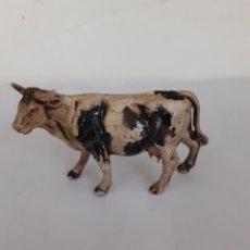 Figuras de Goma y PVC: FIGURA VACA EN GOMA PECH,JECSAN,REAMSA. Lote 205560101