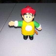 Figuras de Goma y PVC: COMANSI FIGURA DE PVC AÑOS 80 YOLANDA GOKU BOLA DE DRAGON ENRLAG. Lote 205560958