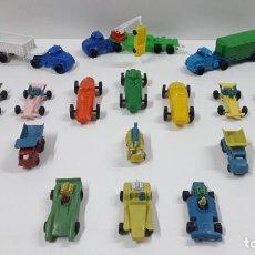 Figuras de Goma y PVC: GRANDES TRANSPORTES - CAMIONES Y BOLIDOS . JUGUETE KIOSKO . ORIGINAL AÑOS 70. Lote 205576771
