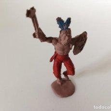Figuras de Goma y PVC: FIGURA INDIO REAMSA GOMA. Lote 205604077