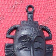 Figuras de Goma y PVC: MÁSCARA NEGRA ORZOWEI DE BIMBO Nº 9, ESPAÑOLA (TITO), DUNKIN, AÑOS 70-80 ESPECIAL SUBASTA. Lote 205665522