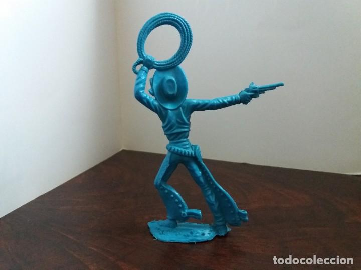Figuras de Goma y PVC: FIGURA VAQUERO OESTE. LAFREDO ?. AÑOS 60/70 - Foto 2 - 205682645