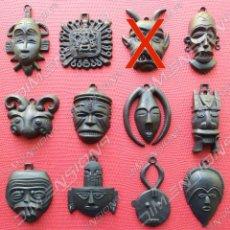 Figuras de Goma y PVC: COLECCIÓN DE 14 MÁSCARAS ORZOWEI DE BIMBO ESPAÑOLAS (TITO), DUNKIN, AÑOS 70-80 ESPECIAL SUBASTA. Lote 205682687