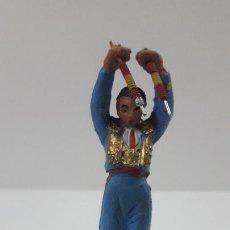 Figuras de Goma y PVC: BANDERILLERO . REALIZADO POR PECH . ORIGINAL AÑOS 60. Lote 205733445