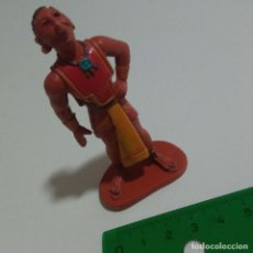 Figuras de Borracha e PVC: FIGURA PVC GOMA PELICULA DREAMORKS DORADO AZTECA PERSONAJE ANIMACION INDIO. Lote 205744507